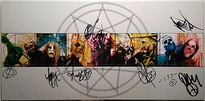 SLIPKNOT – Iowa – 2LP – FULLY SIGNED by all 9 members of SLIPKNOT! – 2001 – COA