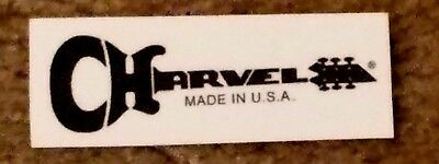 Charvel Waterslide Headstock Decal