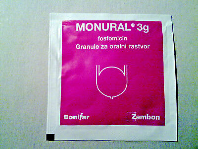 MONUROL (fosfomycin) 3g , Cystitis Urinary Tract Infections
