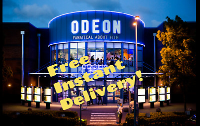 *INSTANT EMAIL* Odeon Cinema Adult 2D Tickets Vouchers Codes Outside London