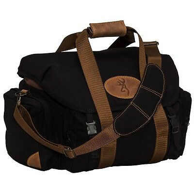 Browning Lona Black Canvas Shooting Range Bag 121388991  Durable