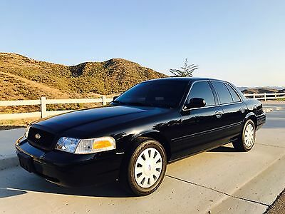 2008 Ford Crown Victoria  2008 FORD POLICE INTERCEPTOR P-71 FLEXFUEL (UNMARKED)