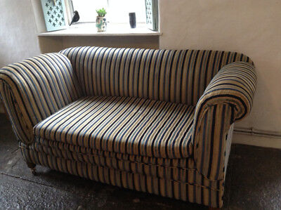 chaise-long setee, 2 seater chesterfield style