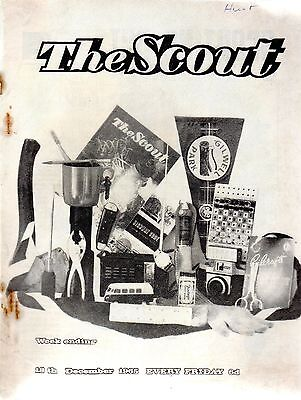 18 DECEMBER 1965 Vintage Magazine The Scout 48421