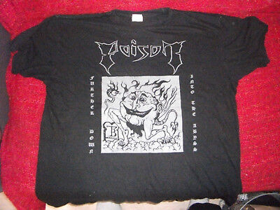 POISON - Further down Into the Abyss T-Shirt L