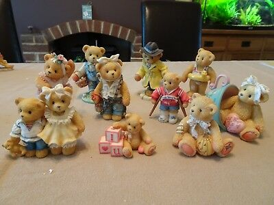 Cherished Teddies - A lot of 10 Figures