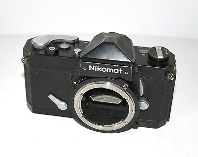 Black Nikomat Body - For Parts - No Reserve