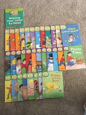 Oxford Reading Tree Read Biff Chip & Kipper Level 1-3 Collection 33Books Rrp£163