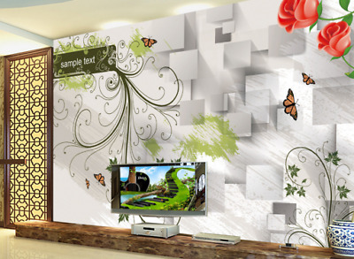 3D Hand Painted 743 Wall Paper Murals Wall Print Wall Wallpaper Mural AU Kyra