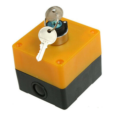 AC 400V 10A 2 Positions NO Contact Keylock Rotary Switch with 2 Pcs Keys Or Z3V5