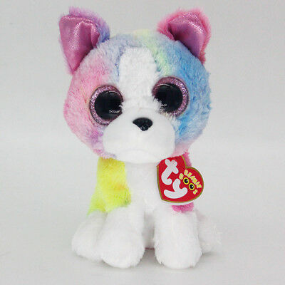 "Ty Beanie Boos 6"" Isla Stuffed Plush Toy Soft Animals Toy Girls&Boys Plush Dolls"