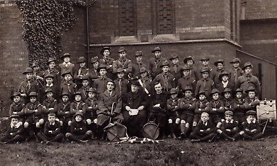 RP Swindon scouts band, drums and bugles, Banbury publisher