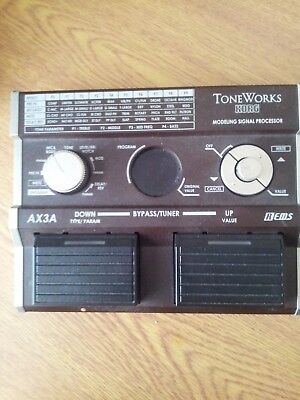 Korg Toneworks AX3A modelling signal processor effect pedal