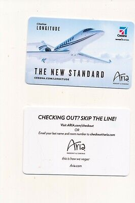 "new release--ARIA--""The New Standard""---Las Vegas, NV-----Room key"