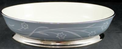 Flintridge REVERIE STRATA BLUE Oval Vegetable Bowl GREAT CONDITION