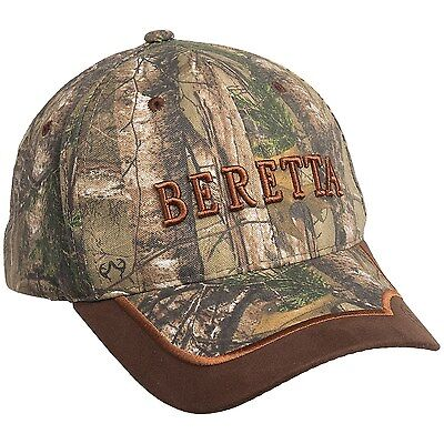 BERETTA Shooting Cap Camo Realtree Pigeon Shooting Hunting Decoying Hat New