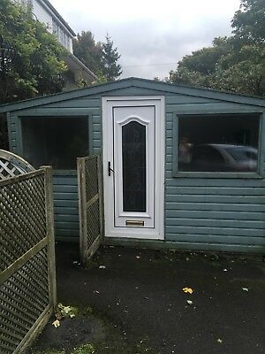 Very Large Shed Summerhouse Outdoor Office Studio Playhouse Garden Room Teen Den