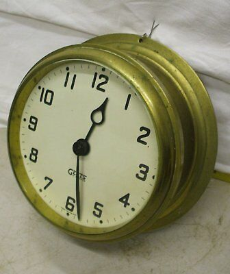 Gents Electric Slave Ships Clock For Use Off A Master