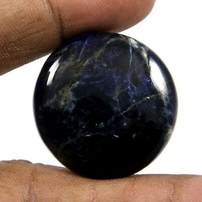 45.65 cts 100% Natural Sodalite Cabochon Round Loose Beautiful Designer Gemstone