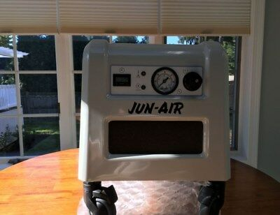 Jun-Air 85R-4P Compact  Quiet Rocking Piston Air Compressor