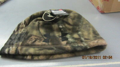Under Armour Mens Outdoor Camo Fleece Beanie One Size Fits All Break Up Country