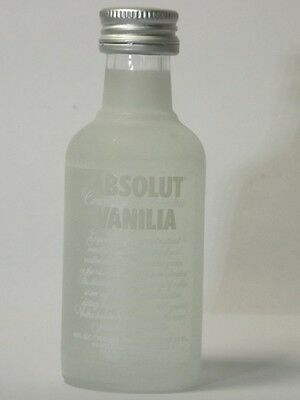 Absolut Vodka Vanilia Old 40% 50ml mini flaschen bottle miniature bottela