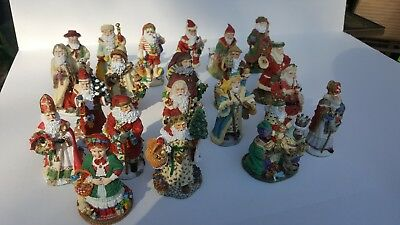 The International Santa Claus Collection.Lot of 27, plus 1.