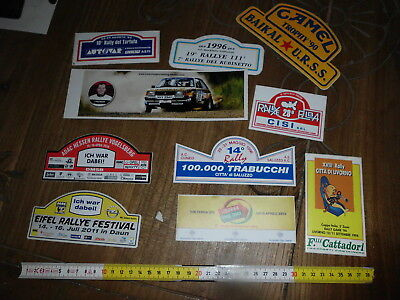 Rally Motorsport Camel Trophy Lotto Adesivo Sticker Aufkleber Autocollant Rallye