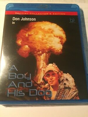 A Boy And His Dog BLU RAY BRAND NEW  Special Collector's English Only All Region