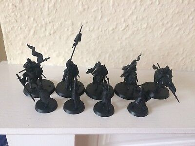Lord Of The Rings The Hobbit Gondor Knights And Warriors Plastic Unpainted
