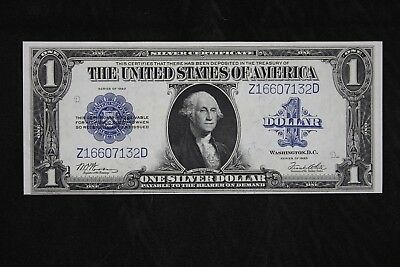 $1 1923 AU Horse Blanket Large silver certificate Z16607132D one dollar FREESHIP