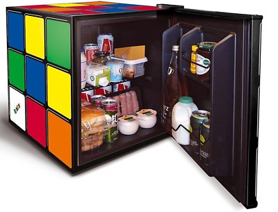 husky hu231 rubik 39 s cube mini beer fridge drinks chiller 43l hus hu231 pwb picclick uk. Black Bedroom Furniture Sets. Home Design Ideas