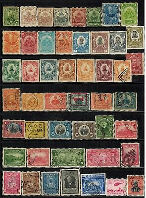 Lot of Haiti Old Stamps Used/MH