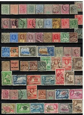 Lot of Gold Coast Old Stamps Used/MH