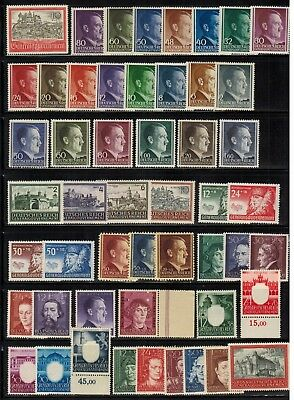 Lot of Poland German Occupation Old Stamps MNH