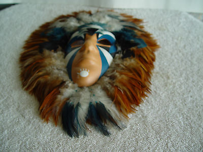 Collectible Native Mask Excellent Detailed Art Work You Will Appreciate
