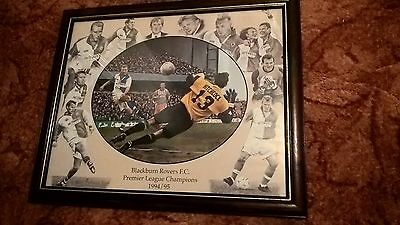 Blackburn Rovers 1995 Champions Framed Picture