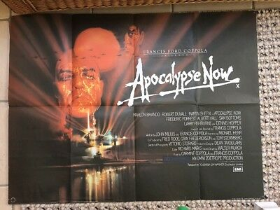 Apocalypse Now Original Quad Poster
