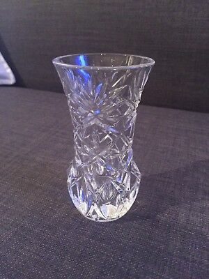 Cut Glass Bud Vase