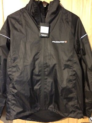 New Muddy Fox Waterproof Jacket Black Small