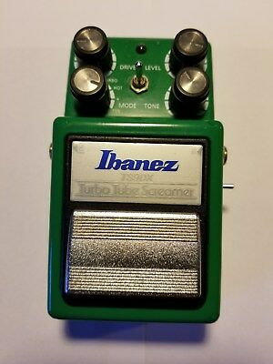 Ibanez TS9DX Tube Screamer Monte Allums Mod Oerdrive Pedal! Ex.Cond! No Reserve!