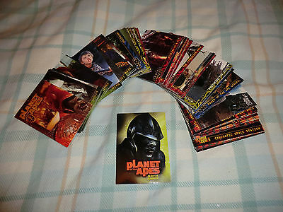Planet Of The Apes Tim Burton Remake  Full 90  Card Set
