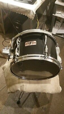 "Yamaha recording custom tom tom 12""/8"" solid black"