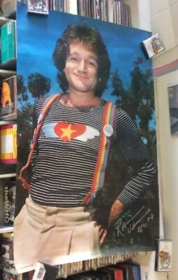 Robin Williams - Mork And Mindy - 1979 - Promotional Poster - RARE