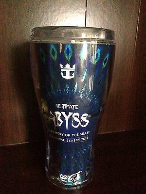 Ultimate Abyss Royal Caribbean Harmony of the Seas 20 oz Coca Cola Tumbler Cup