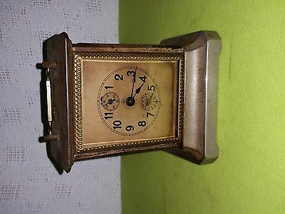 1900's JUNGHANS Musical Alarm Clock Extremely Old and Rare