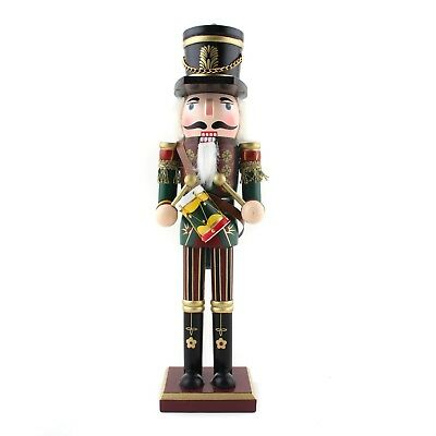 """12"""" Christmas Holiday Wooden Nutcrackers Soldiers On Stand Gift Decoration - 30"""