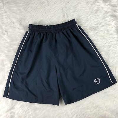 Nike Dri-Fit  Mens Small S Athletic Running Soccer Shorts Navy Blue (D3)