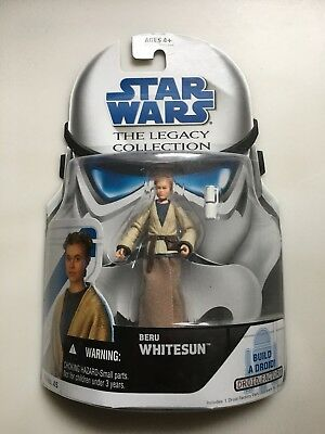 Young Aunt Beru Whitesun Tatooine Figure AOTC Star Wars LEGACY Collection MOC