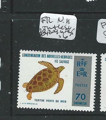 New Hebrides French (P1508B) Turtle Sc204  Mnh